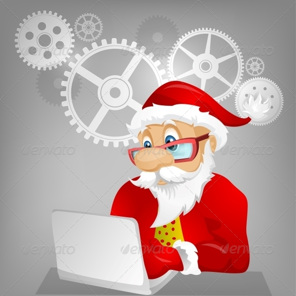 GraphicRiver Santa Claus 6089325
