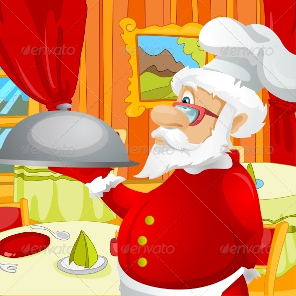 GraphicRiver Santa Claus 6089331