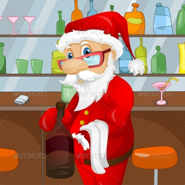 GraphicRiver Santa Claus 6089356