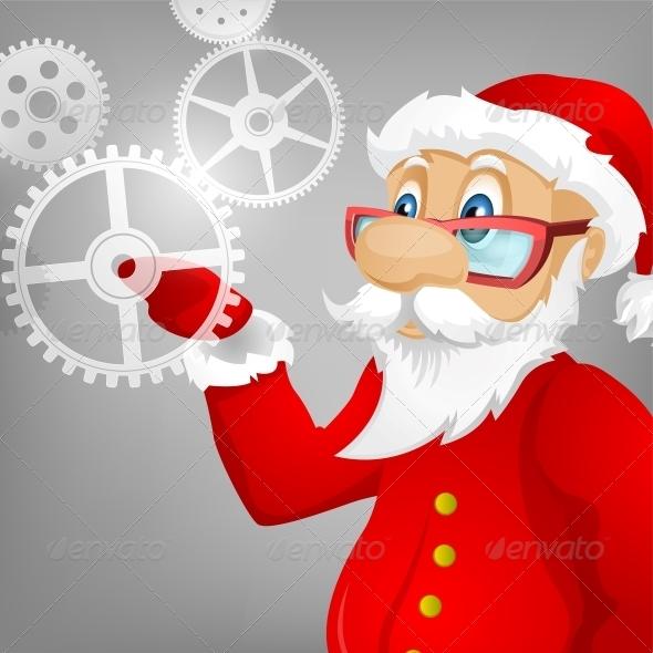 GraphicRiver Santa Claus 6089388