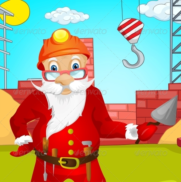 GraphicRiver Santa Claus 6089410