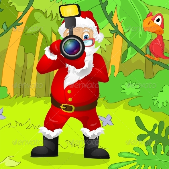 GraphicRiver Santa Claus 6089443