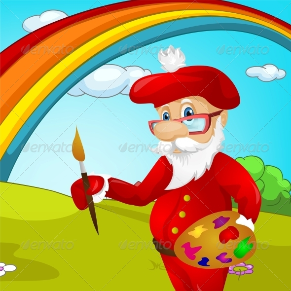 GraphicRiver Santa Claus 6089482