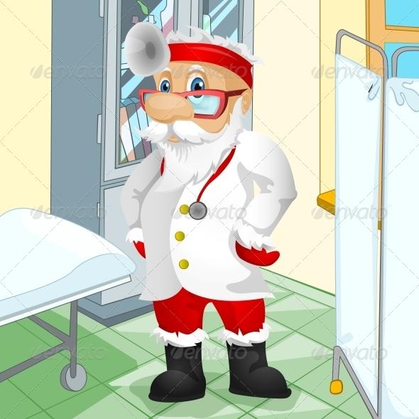 GraphicRiver Santa Claus 6089521