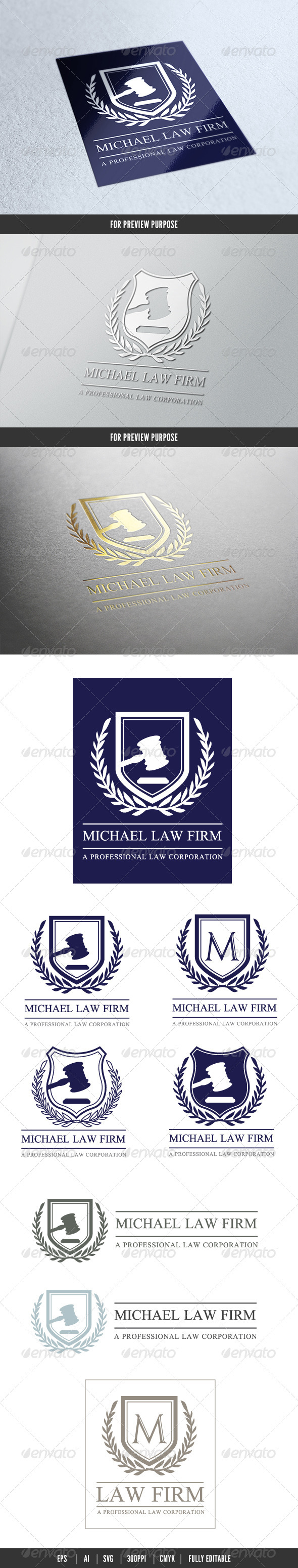 GraphicRiver Law Firm 6089568