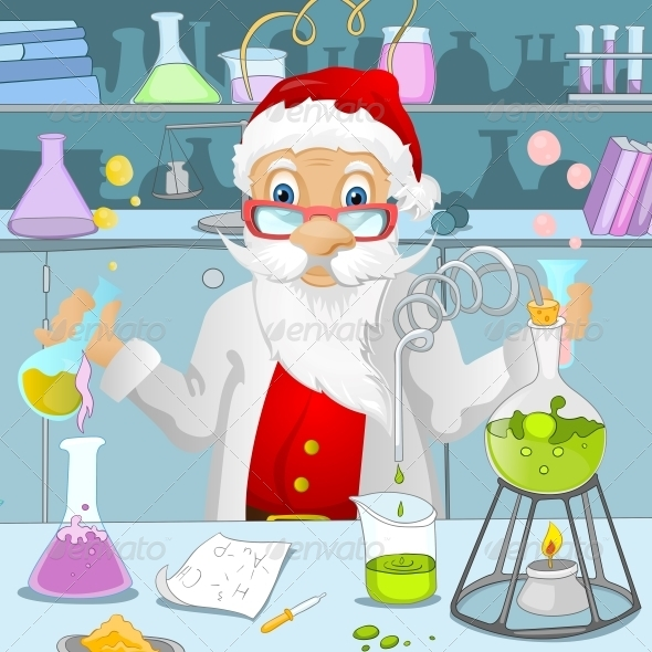 GraphicRiver Santa Claus 6089573