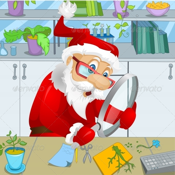 GraphicRiver Santa Claus 6089608
