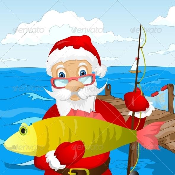 GraphicRiver Santa Claus 6089612