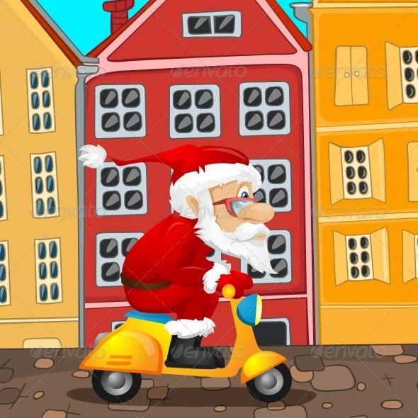 GraphicRiver Santa Claus 6089679
