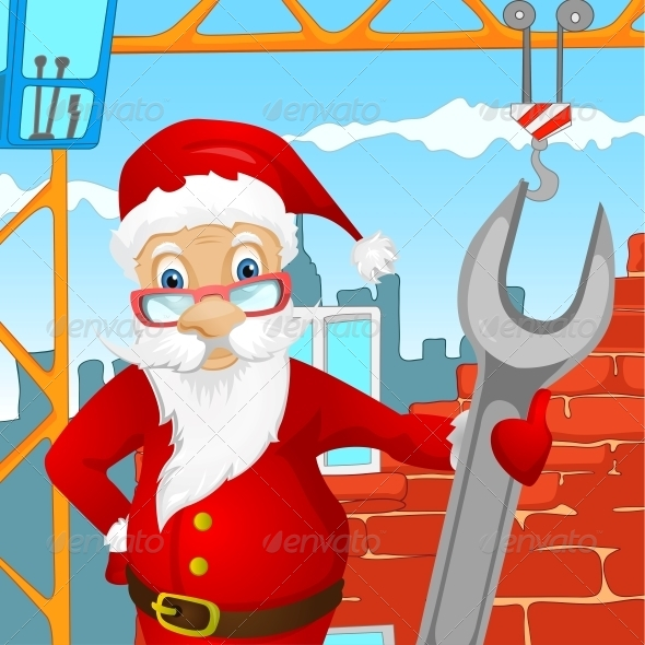 GraphicRiver Santa Claus 6089713