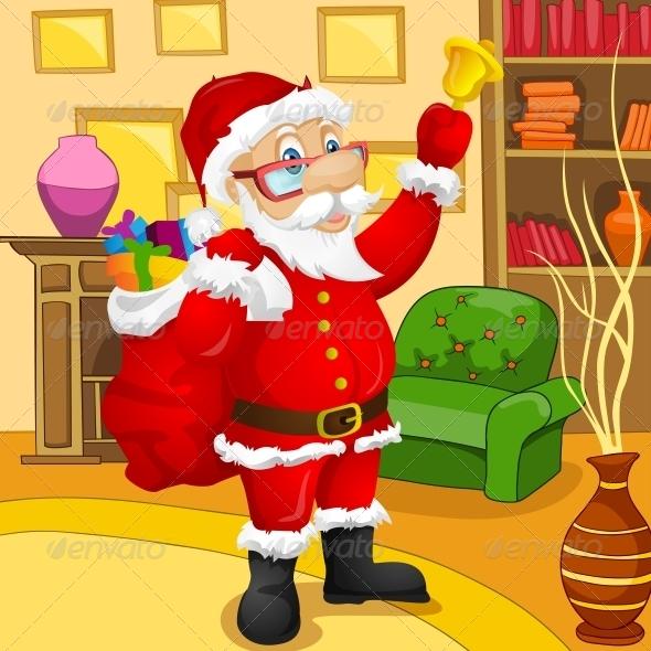 GraphicRiver Santa Claus 6089864