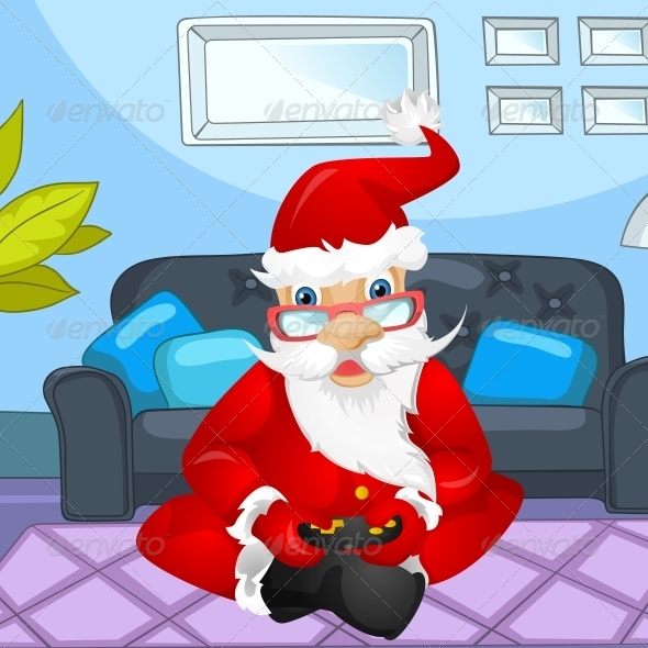 GraphicRiver Santa Claus 6089882
