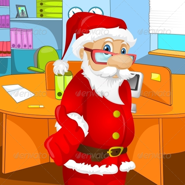GraphicRiver Santa Claus 6089970