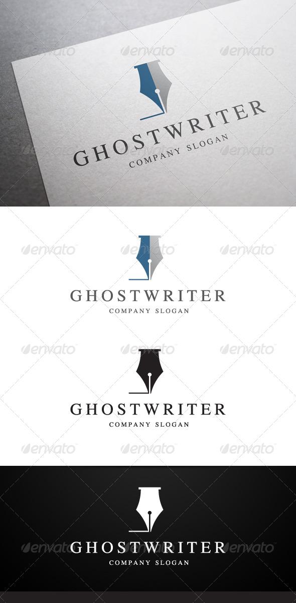 GraphicRiver Ghostwriter Logo 6090824