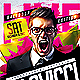 Electro House Music Flyer PSD - GraphicRiver Item for Sale