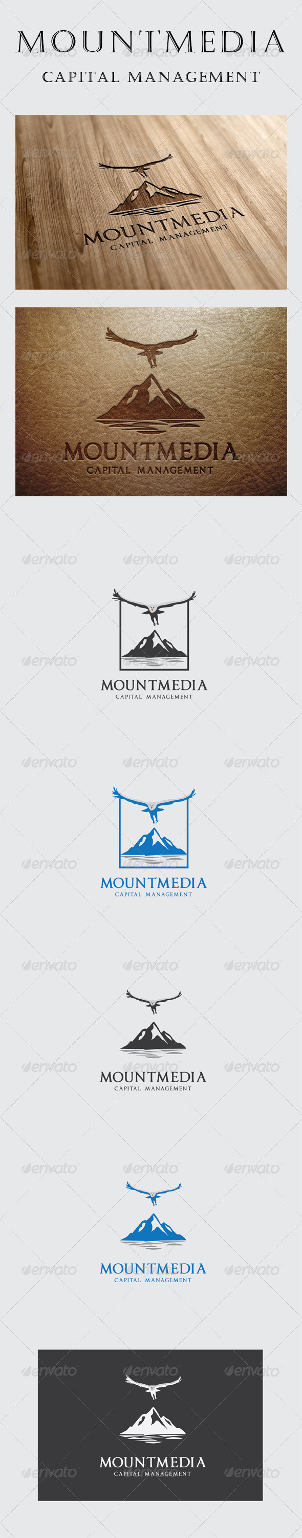 GraphicRiver Mount Media Logo 6091616