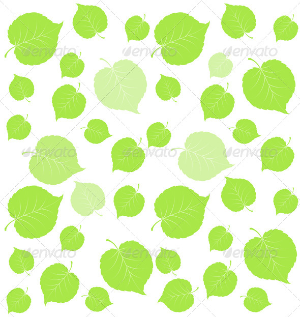 GraphicRiver Leaf Green Background 6091623