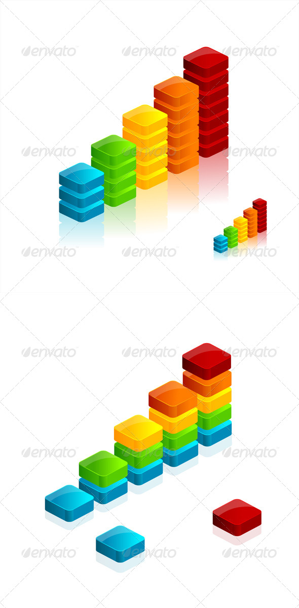 GraphicRiver Vector Graph Icons 6091634