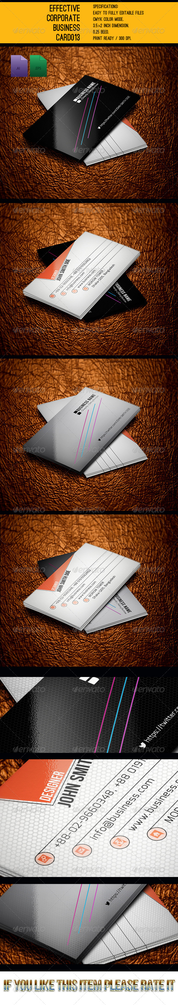 GraphicRiver Modern Business Card GD0014 6091909