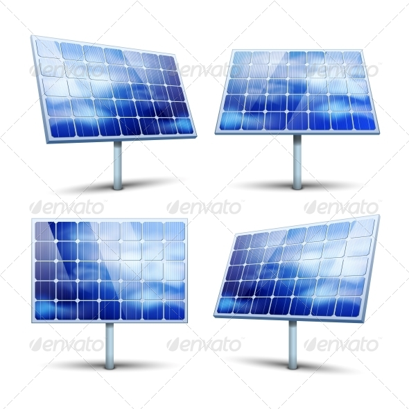 GraphicRiver Solar Panels 6091921