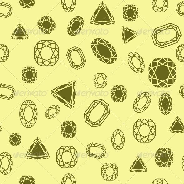 GraphicRiver Diamonds Pattern 6091982