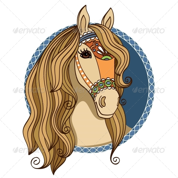 GraphicRiver Horse Head 6092010
