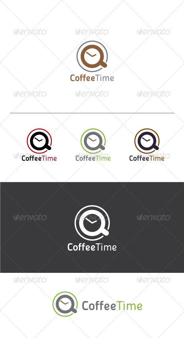 GraphicRiver Coffee Time Logo Template 6092050