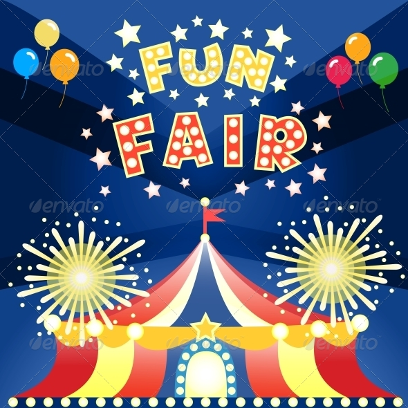 GraphicRiver Fun Fair Poster 6092071