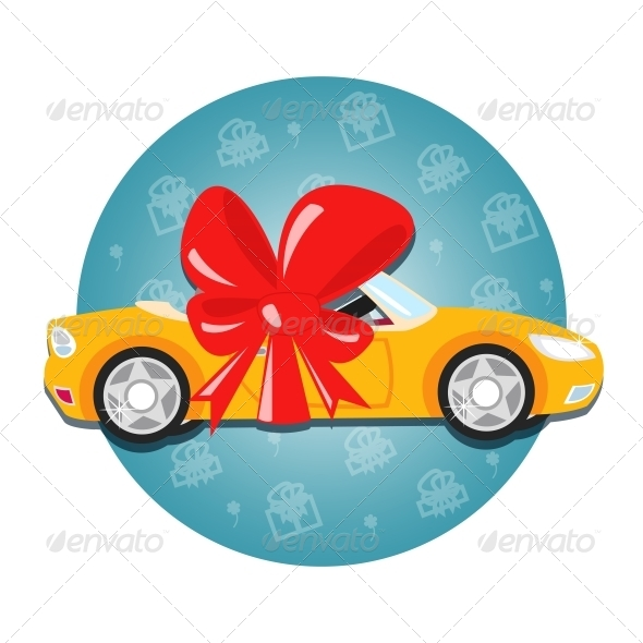 GraphicRiver Car Gift 6092073