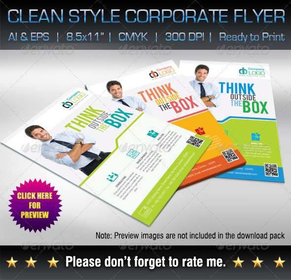GraphicRiver Corporate Business Flyer 6092115