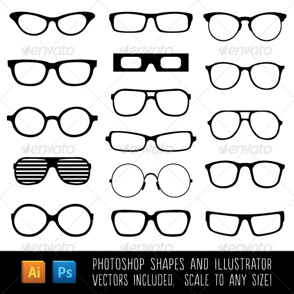 GraphicRiver Spectacle Custom Shapes 6092631