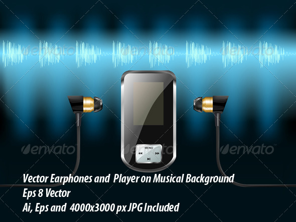 GraphicRiver Music Player 6093266