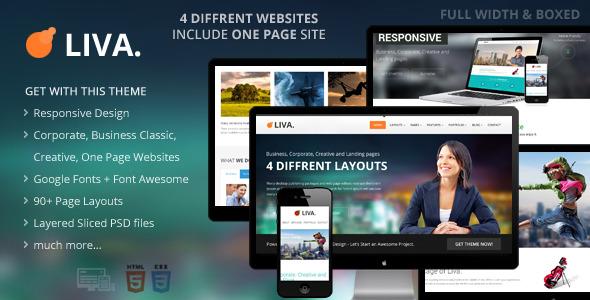 Liva - Responsive MultiPurpose HTML5 Template