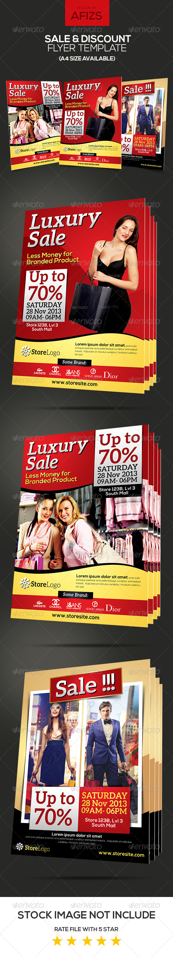 GraphicRiver Sale & Promotion Flyer 6093538
