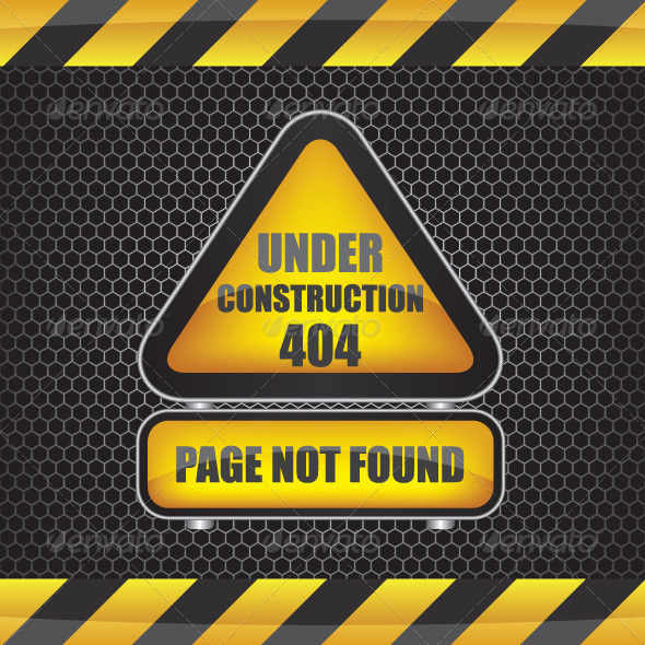 GraphicRiver 404 Error Under Construction 6093601