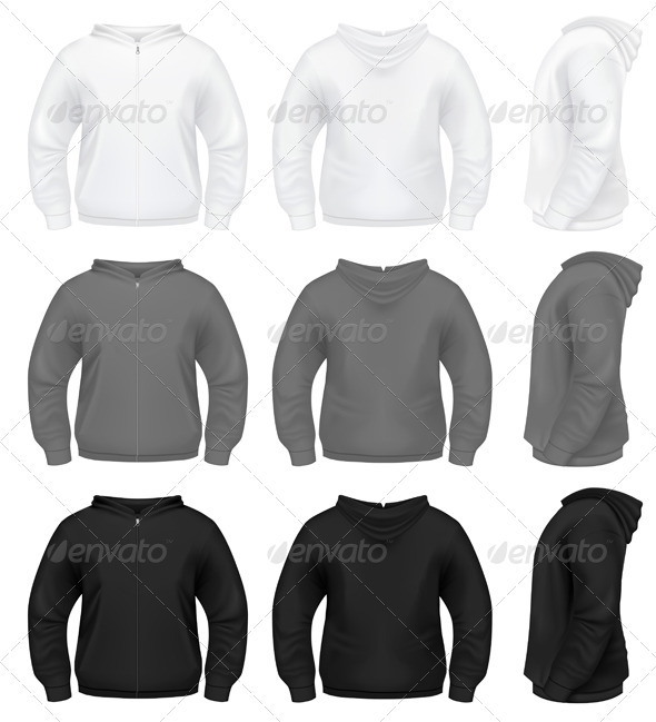GraphicRiver Realistic Men s Hoodie 636158