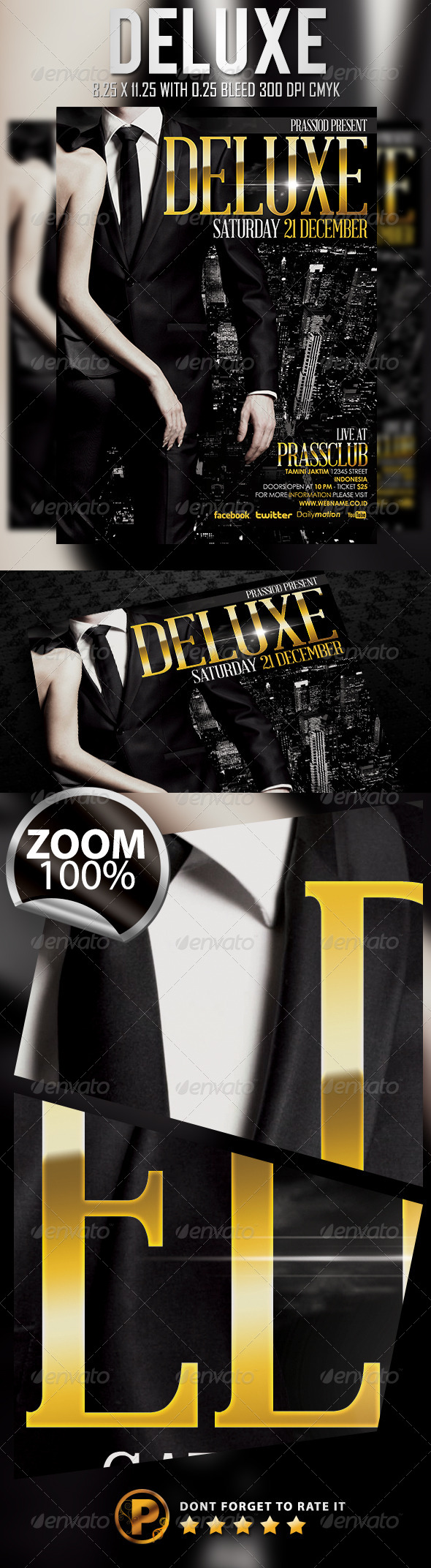GraphicRiver Deluxe Flyer Template 6093703