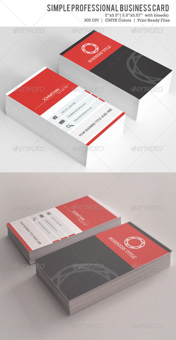 GraphicRiver Simple Business Card VOL-02 6094396