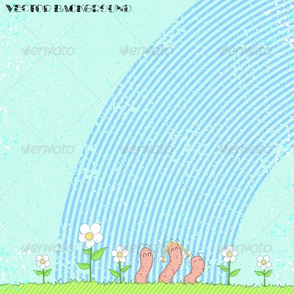 GraphicRiver Worm Background 6094433