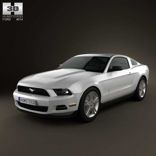 3DOcean Ford Mustang V6 2012 636219