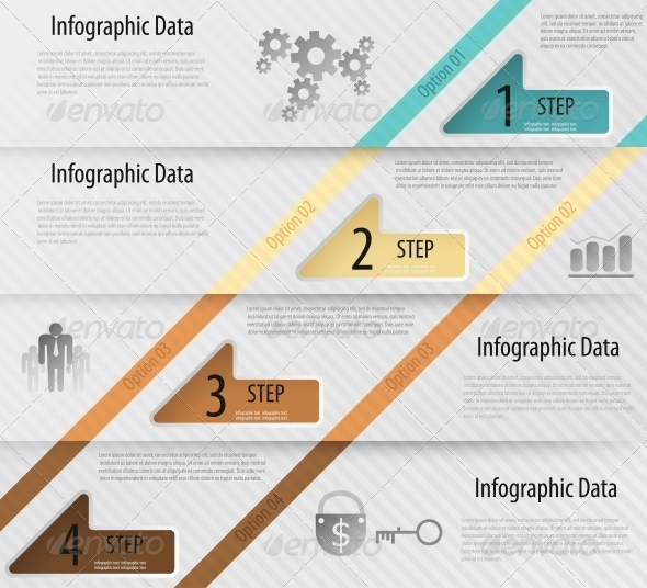 GraphicRiver Modern Infographics Options Banner with Arrows 6094784