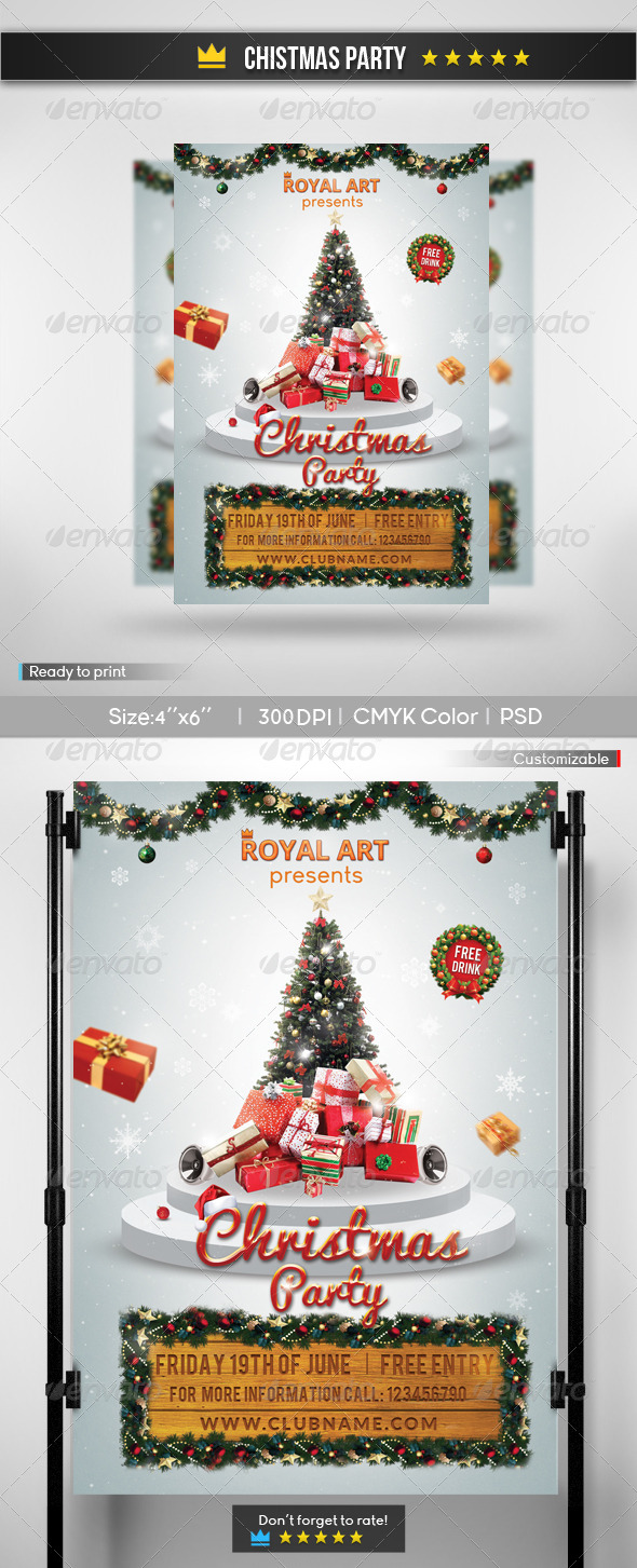 GraphicRiver Christmas Party 6094792