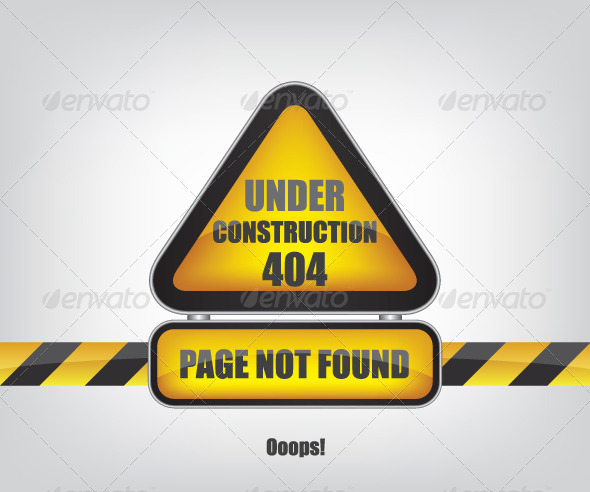 GraphicRiver Page not Found Error 404 6094876