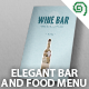 Elegant Bar / Food Menu - GraphicRiver Item for Sale