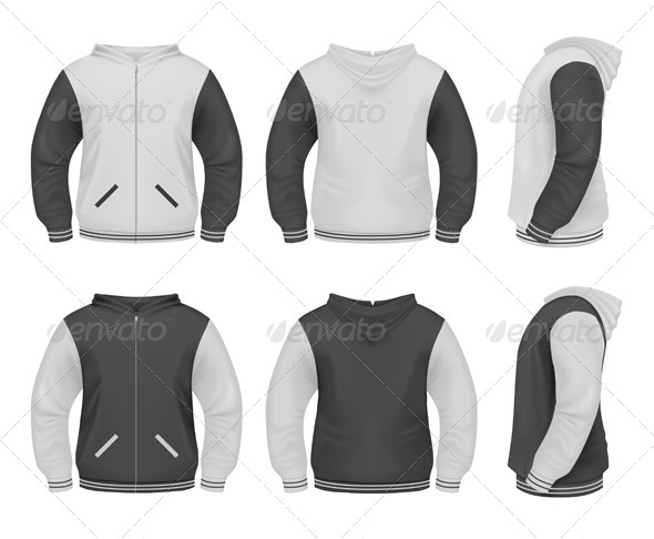 GraphicRiver Realistic Men s Sweatshirt 6094996