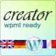 Творец - бизнес тема Wordpress + HTML шаблонов - Корпоративные WordPress