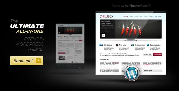 ChilliBox. Premium WordPress Theme. - ThemeForest