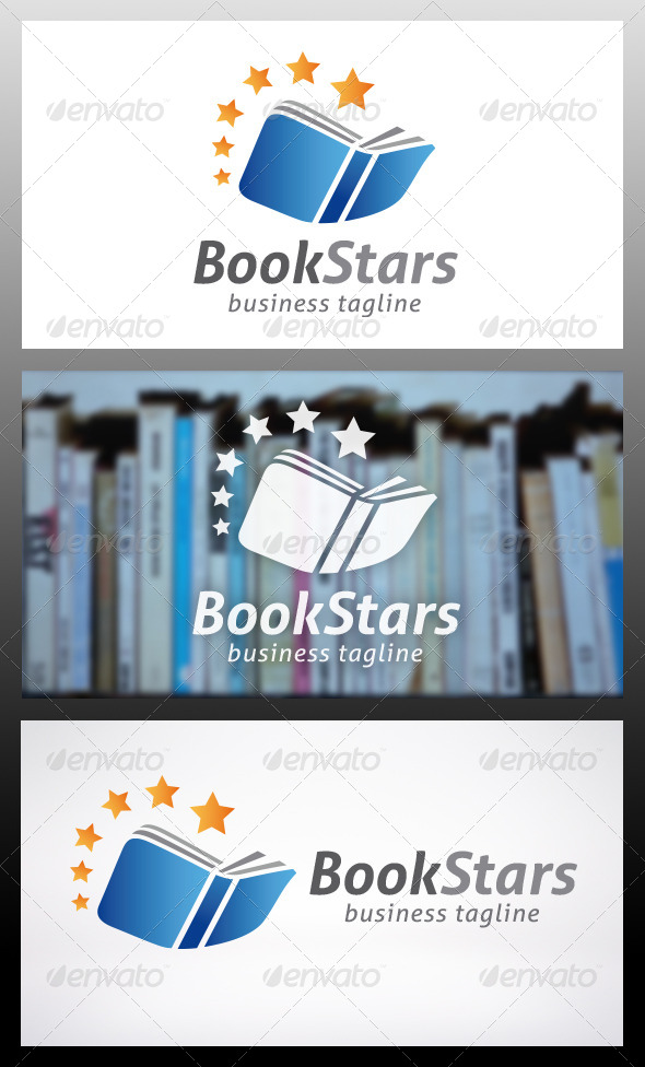 Book Logo Template