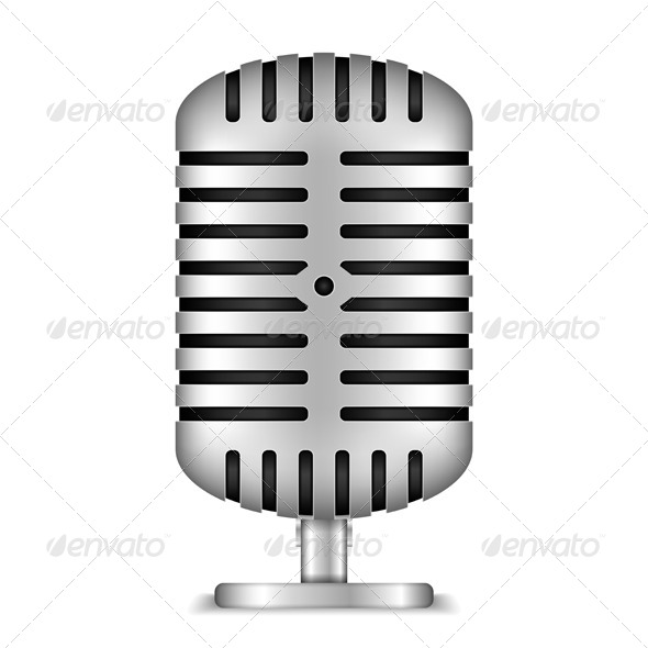 GraphicRiver Microphone 6095630