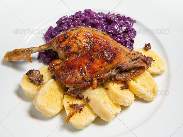 Roast duck - Stock Photo - Images
